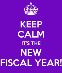 New Fiscal Year has Begun
