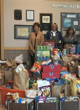 PCC is Collecting Holiday Food Donations